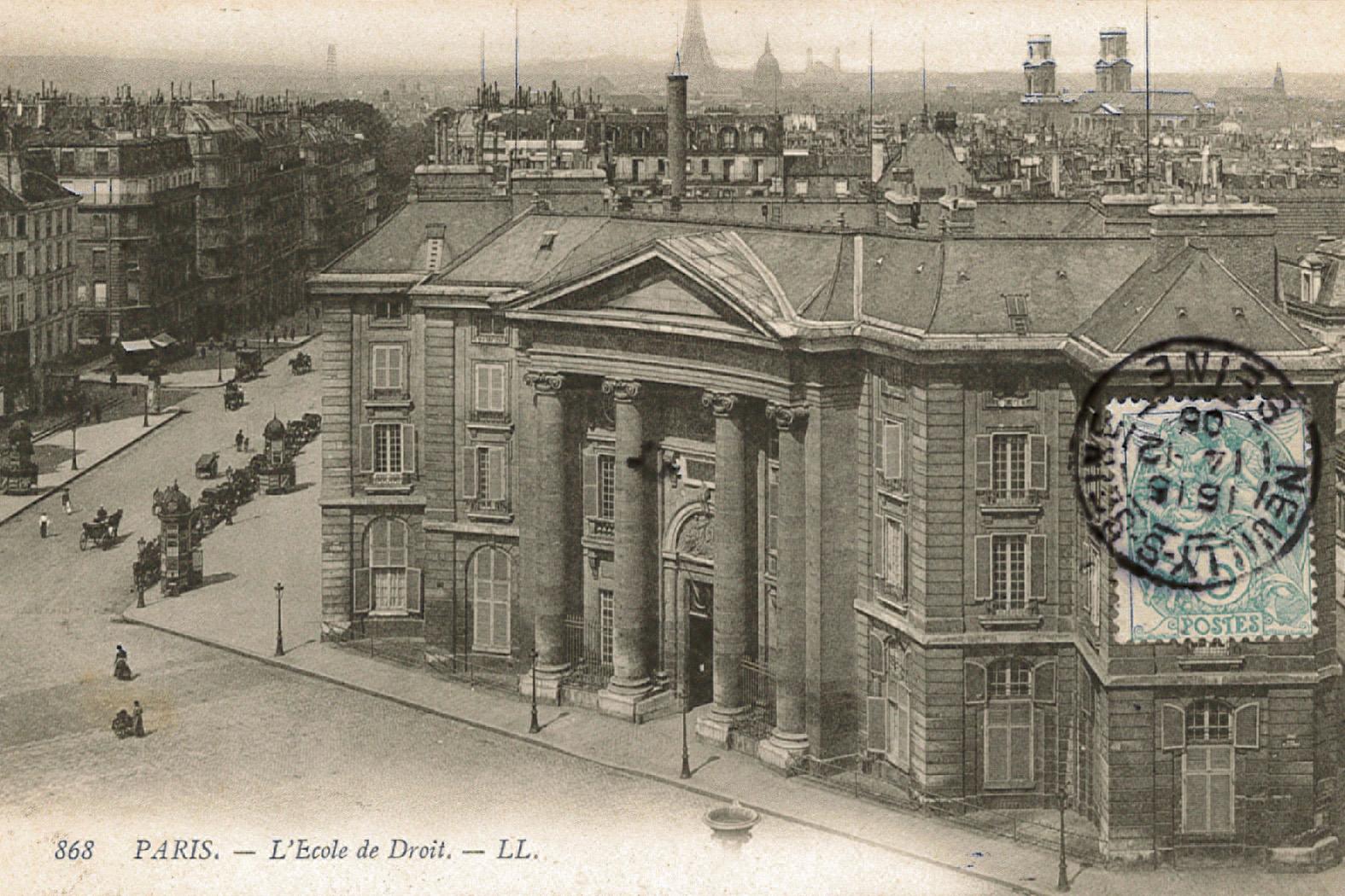 Paul Viollet et la Faculté de droit de Paris