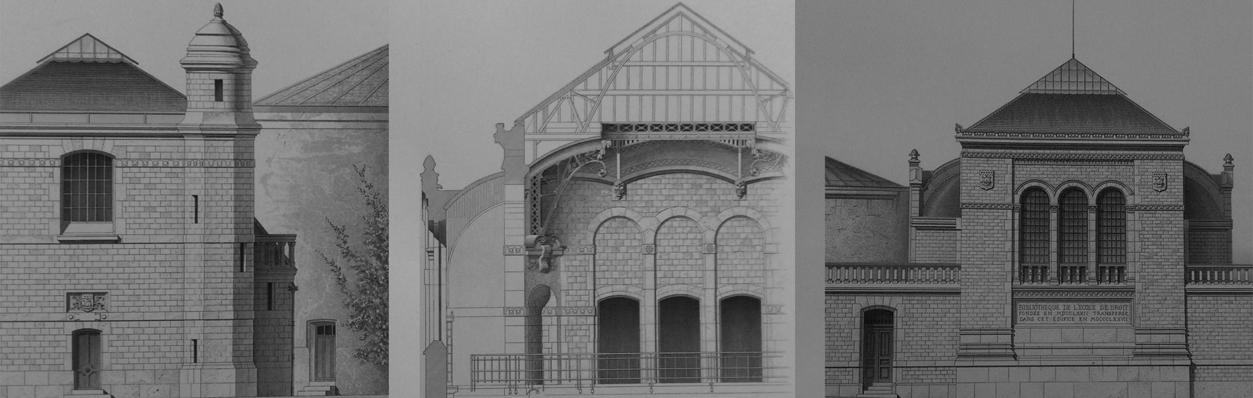 Un monument disparu du patrimoine universitaire parisien : la bibliothèque de la Faculté de droit